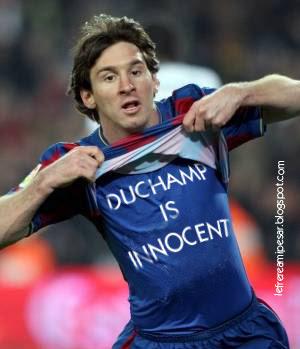 Messi, Clásico, Barcelona, Duchamp
