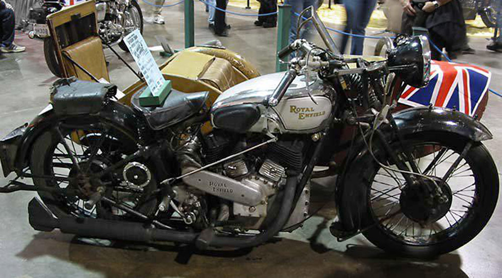 "RoyalEnfields.com: Classic V-twin says 'Royal Enfield"" to him"