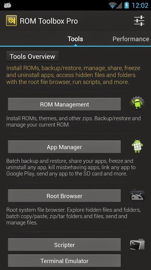 Rom Toolbox Pro apk tools