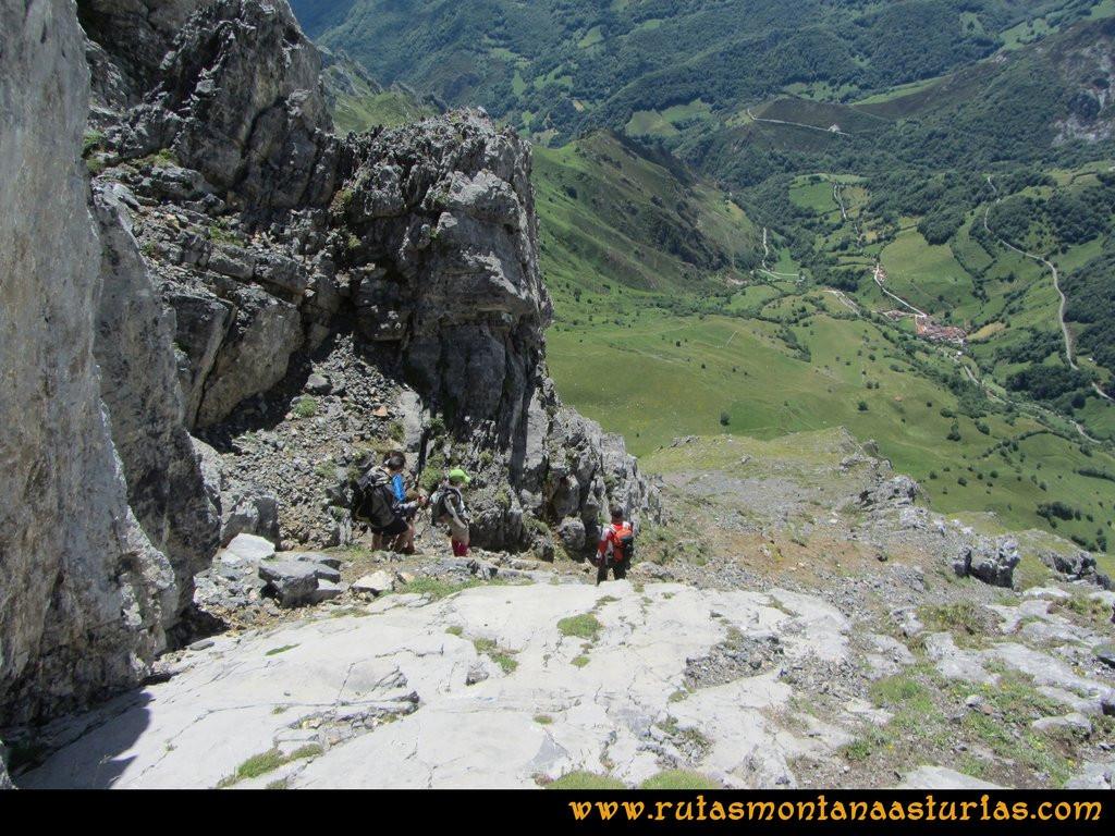 Ruta Tuiza Siegalavá: Plancha de piedra