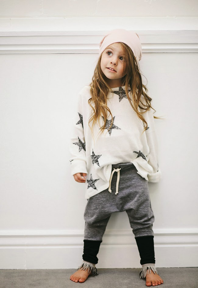 Cool and organic kids clothes by Kindred OAK for autumn 2014