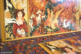 Copyright Agata Kawa / Inspiration Tapisserie / La Dame à la Licorne