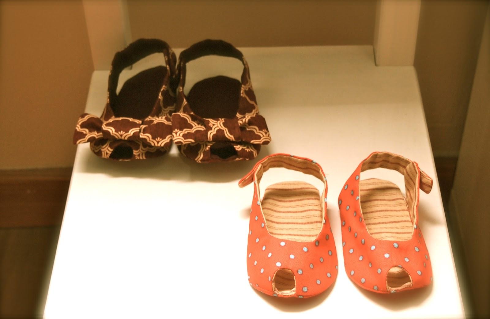 EL PLACER DEL HACER: Sandalias de bebé
