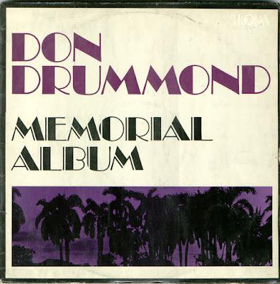 DON DRUMMOND - Memorial Album (1969)