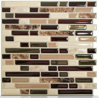 test le carrelage adh sif par smart tiles initiales. Black Bedroom Furniture Sets. Home Design Ideas