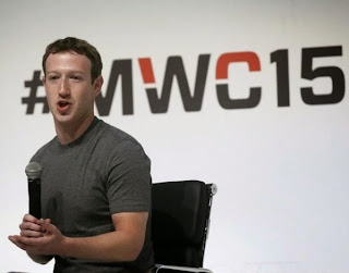 CEO do Facebook, Mark Zuckerberg