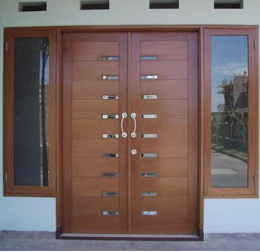 Pintu Rumah Modern: Contoh Pintu Minimalis Elegant