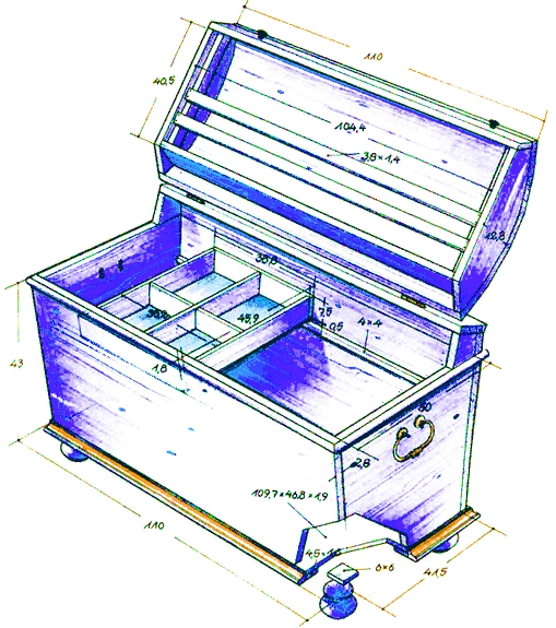 Изготовление ящика для инструментов