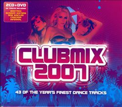 Capa do CD Clubmix 2007 – 2006