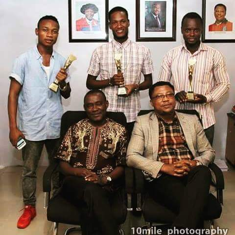 MEET THE NIGERIA OSCAR WINNERS 2015 REPPING  UNIPORT