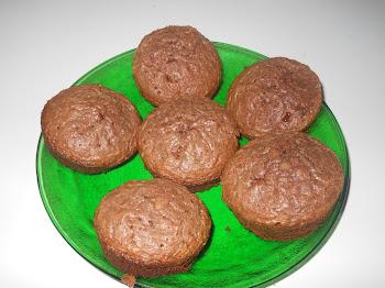 Brownie de Nutella - formato cupcake