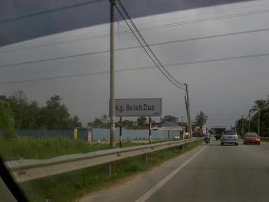 Kampung Belah Dua.
