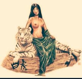 TIGRESA BLANCA: Mujer que sigue su sendero de crecimiento desde su sexualidad sagrada