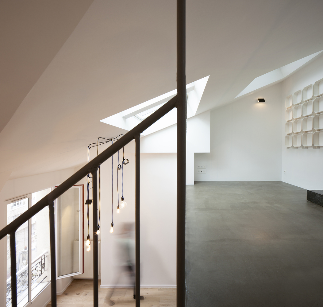 Marzua duplex en saint mande por cairos architecture et for Plataforma arquitectura