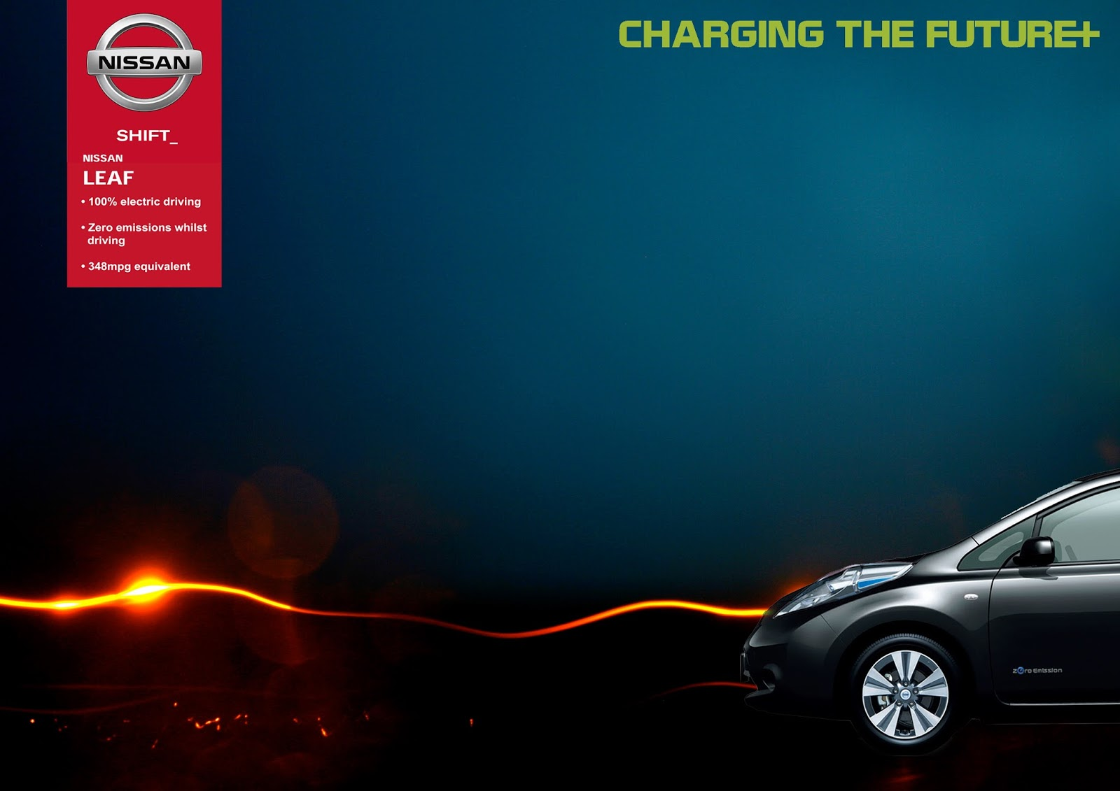 Nissan Leaf Electric Car Advertisement Ycn Project