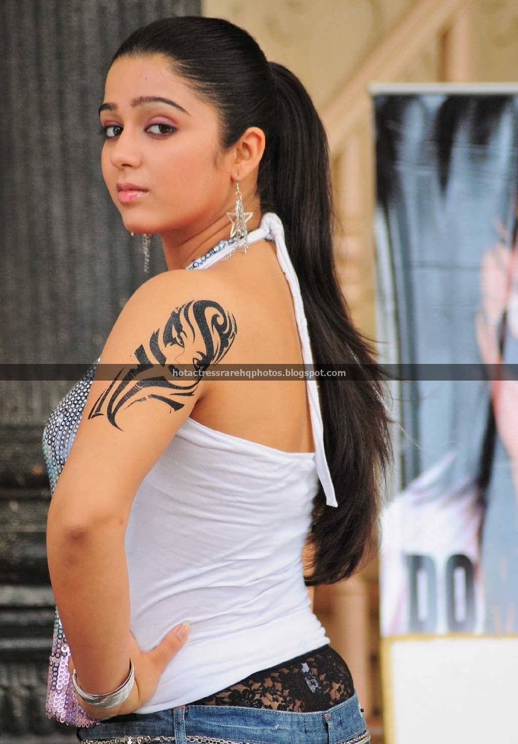 Panty Show || Actress Charmi Kaur Spicy Lace Panty Exposing (3 HD