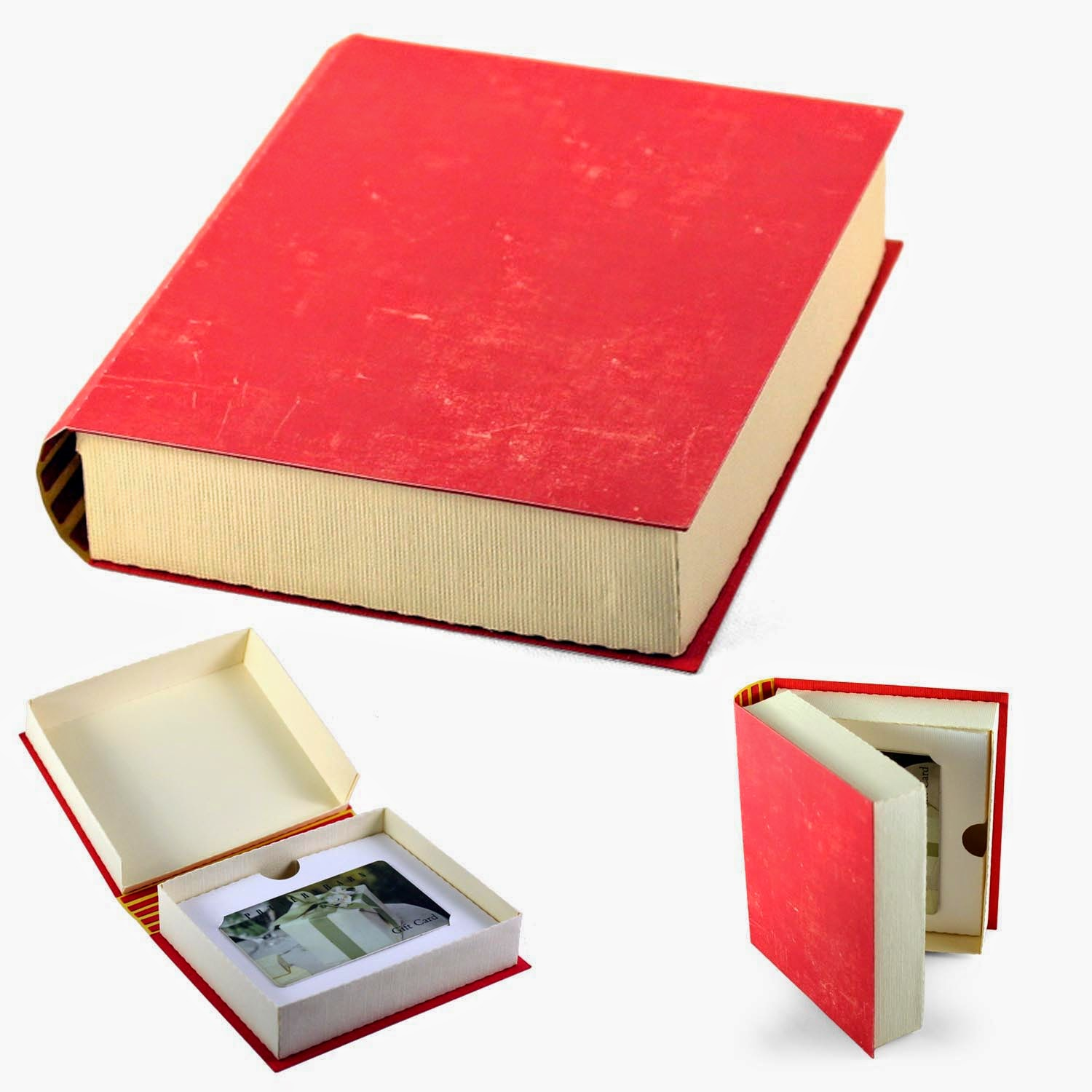 Needles N Knowledge 3d Book Box Gift Card Holder Tutorial
