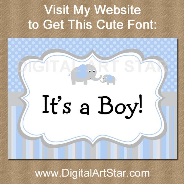 Visit www.DigitalArtStar.com/fonts to get this cute Hank font