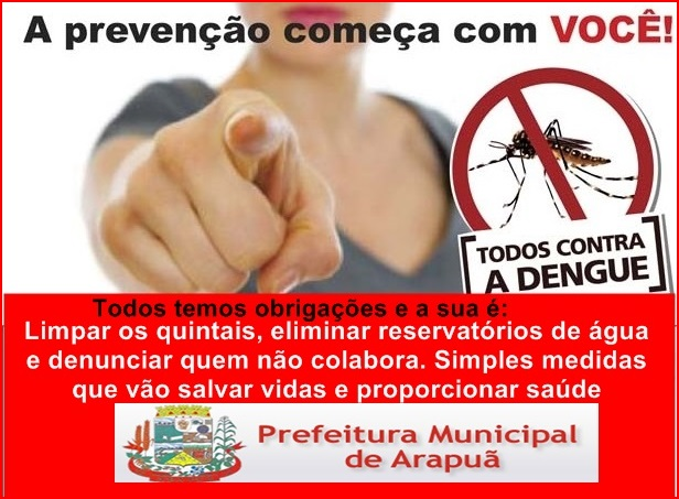 PREFEITURA DE ARAPUÃ - PR
