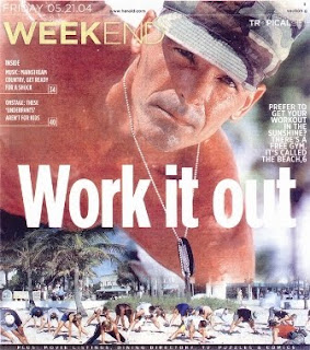 Tropical Life Magazine, Lt. Colonel Bob Weinstein on the Cover