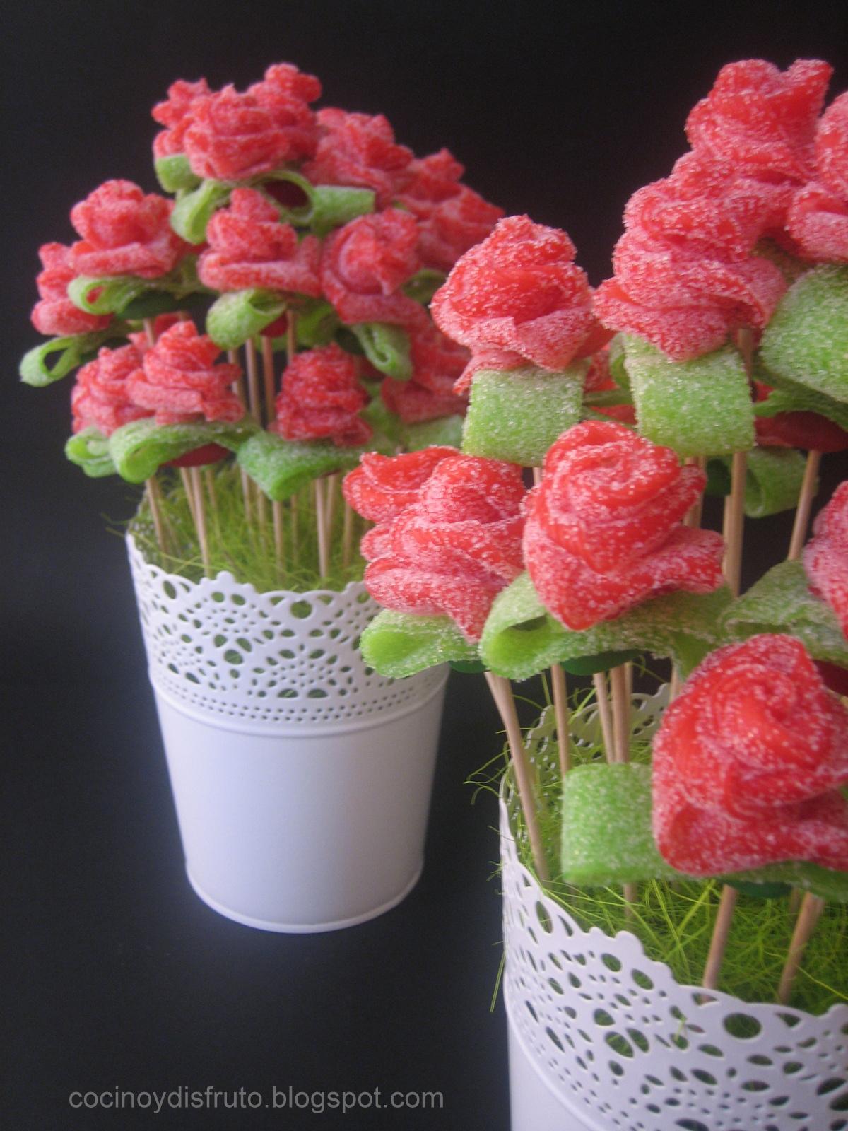 cocino y disfruto rosas de regaliz rosas de regaliz en