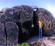 Srikakulam Prehistoric Round-shaped Stone Roof