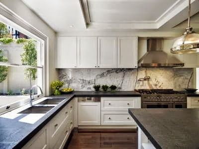 Honed Countertop Materials : Some benefits when choosing honed or leathered finishes with marble or ...