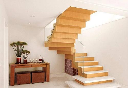 Apuntes revista digital de arquitectura dise o de escaleras algunas alternativas - Escaleras de cristal y madera ...
