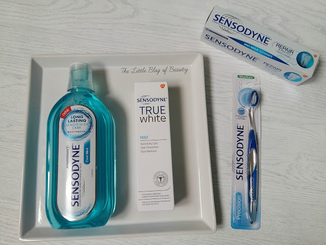 Sensodyne sensitive teeth products