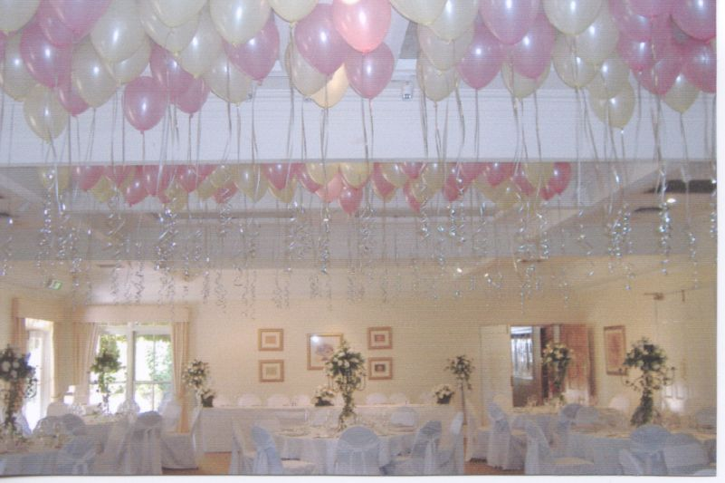 Creatived cor by vincent product ceiling balloon decoration for Balloon ceiling decoration