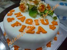 Fondant Cake (8 inci) - RM 85.00