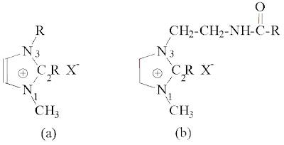 Kation Imidazolium dan Fatty Imidazolinium