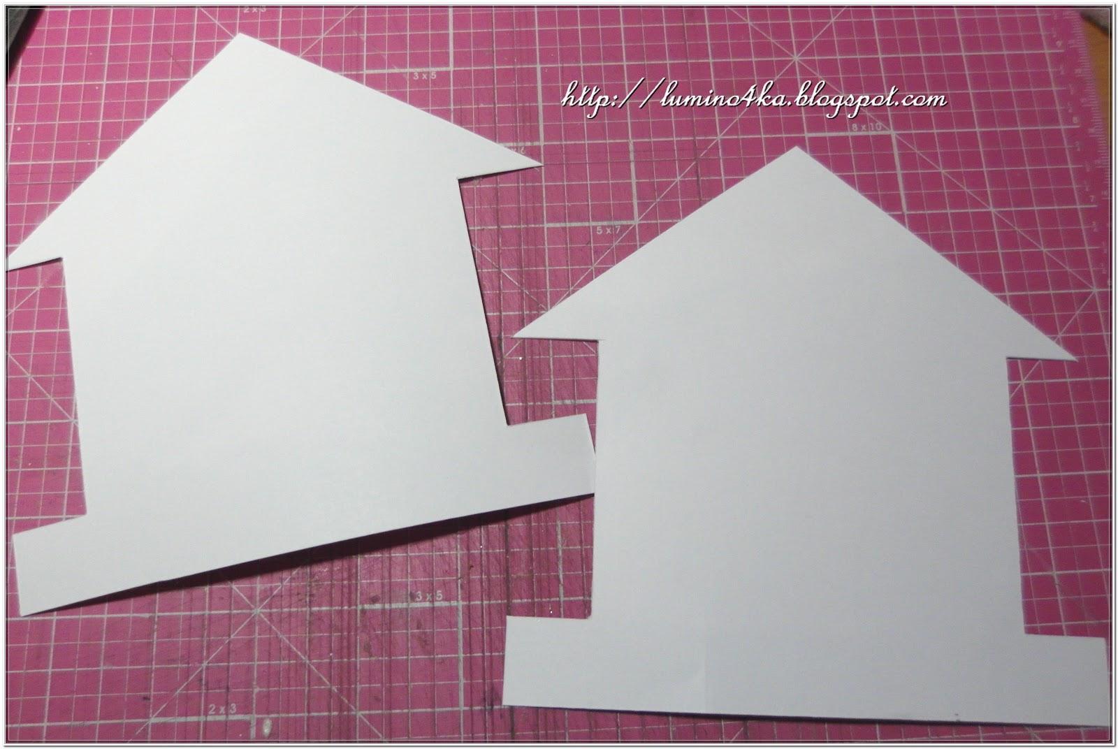 Заборчик из картона шаблоны 124