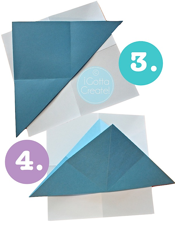 How to Make a 3D Paper Star. #papercrafts | Tutorial at I Gotta Create!
