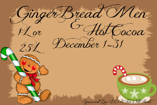 Ginger Bread Men & Hot Cocoa Hunt