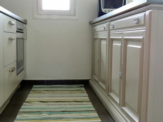 Plata y chocolate muebles reciclados para la cocina for Muebles de cocina reciclados