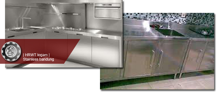 Kitchenset dapur stainless steel stainless bandung for Harga kitchen set stainless steel
