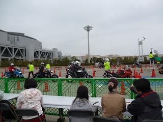 東京モーターサイクルショー 2013 屋外展示場