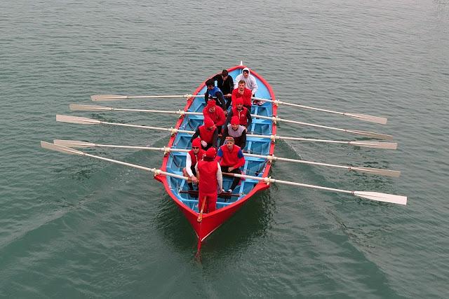 Training session of the Venezia crew, Porto Mediceo, Livorno