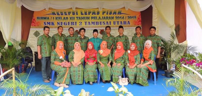 Majelis guru SMK Negeri 2 Tambusai Utara
