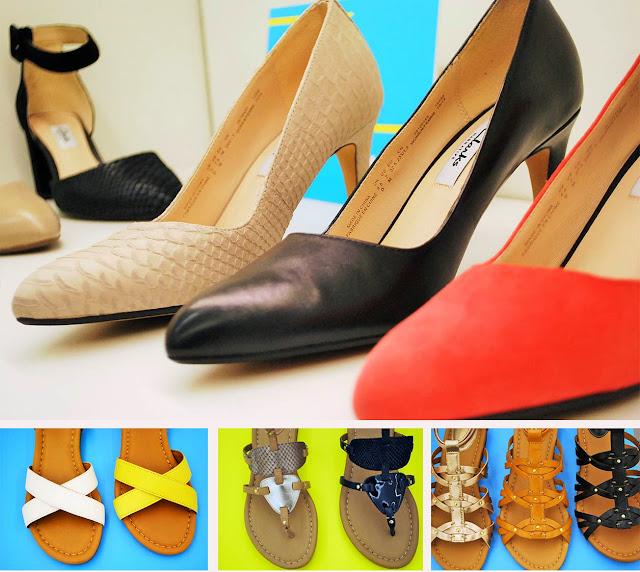 Clarks, escarpins, sandales, cuir, marseille, blog mode