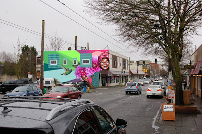 Stunning seattle mural proposal, positivity mural, seattle mural