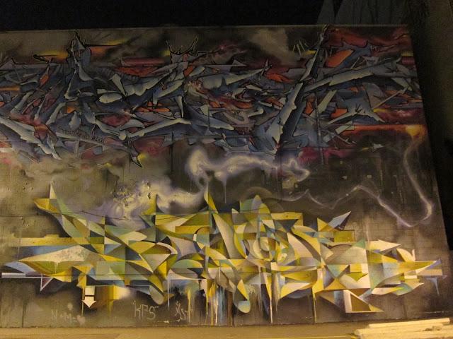 Keele wall graffiti example