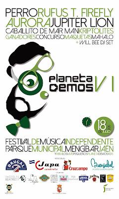 Festival Planeta Demos 2015 Cartel