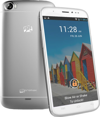 Micromax A240, Phablet Jelly Bean 5 MP, Smartphone micromax A240