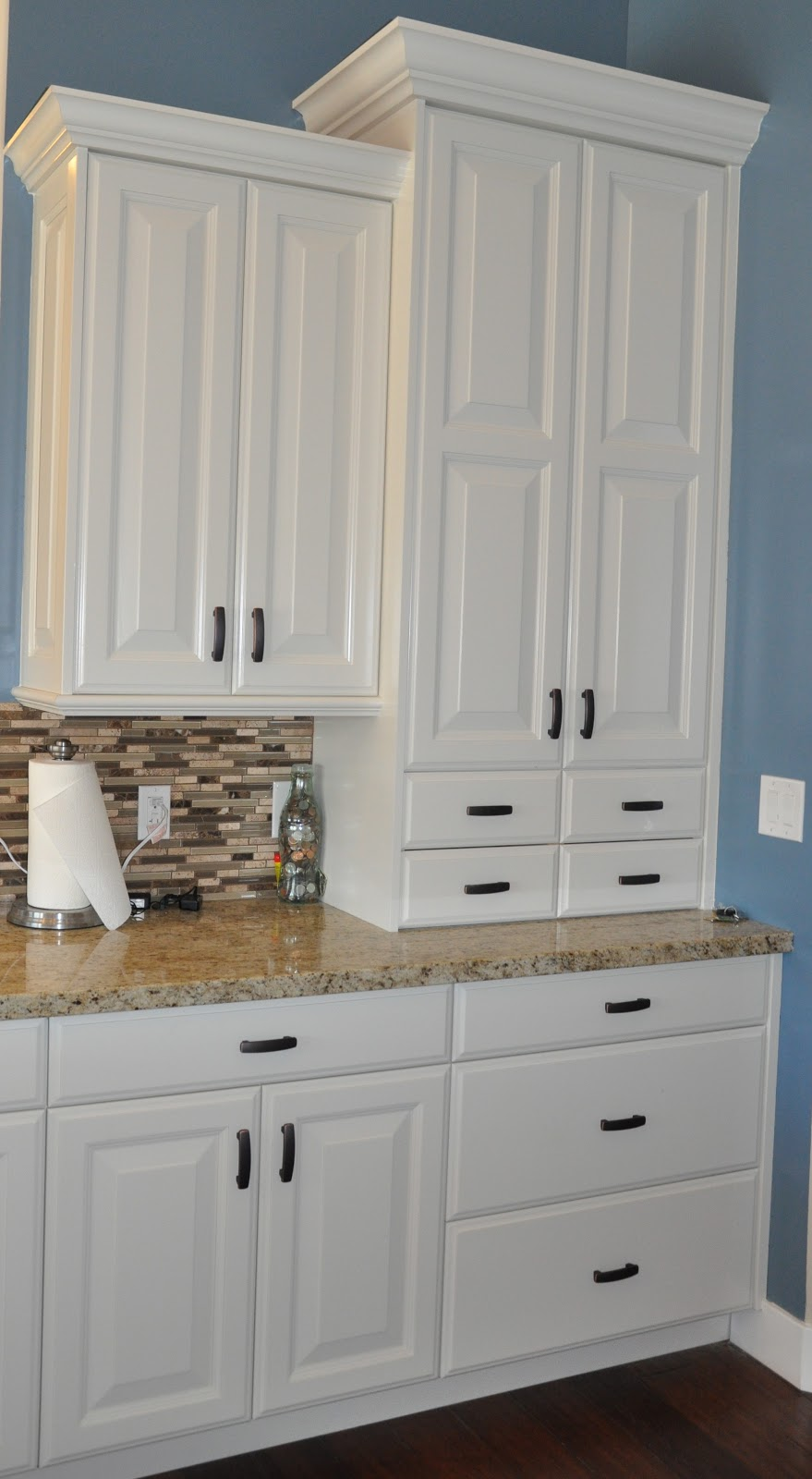stone ridge cabinets kitchen cabinets off white with black walnut