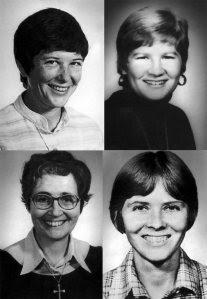Mujeres Martires de El Salvador: Ita, Jean, Maura y Dorothy