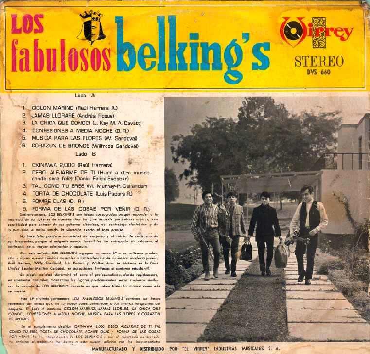 Los Belking's - Gigante De Vidrio