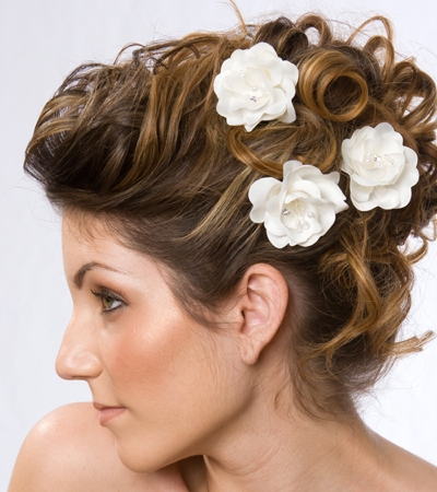 Indian Wedding Hair Style