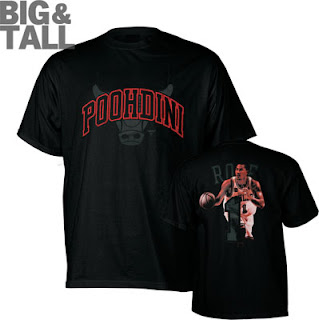 Big and Tall Derrick Rose T-Shirt